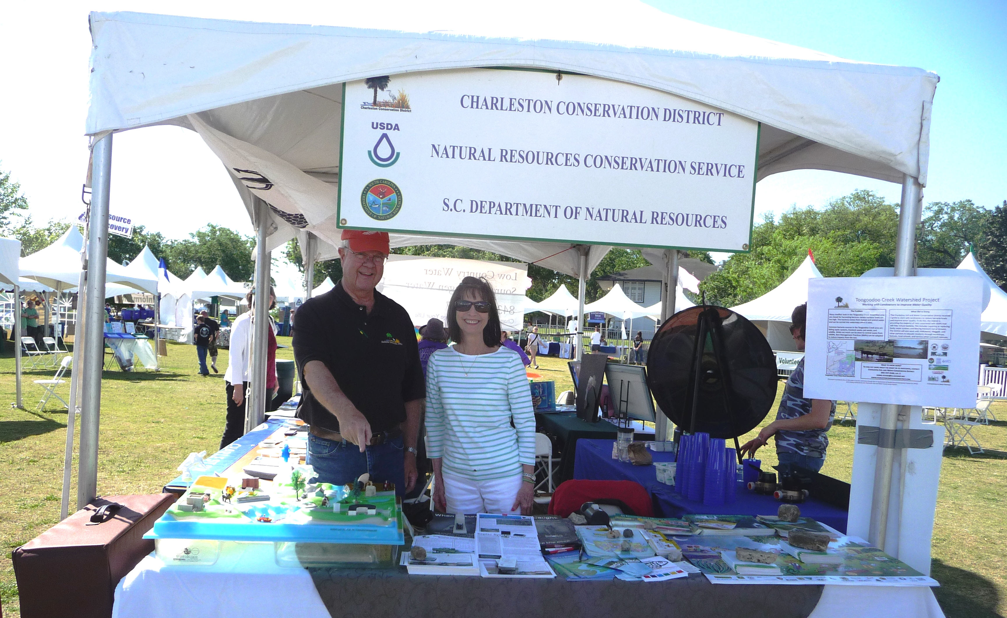charleston soil and water conservation district environmental and education outreach